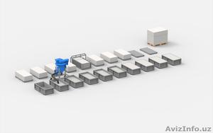 Станок для производства газобетона АСМ-8МС - Изображение #1, Объявление #1582526
